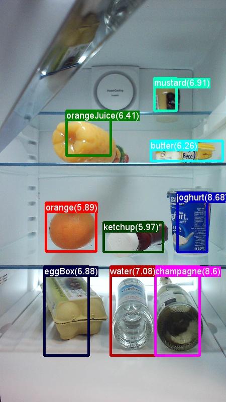 food in fridge image