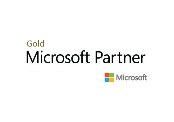 Gold Microsoft Partner logo