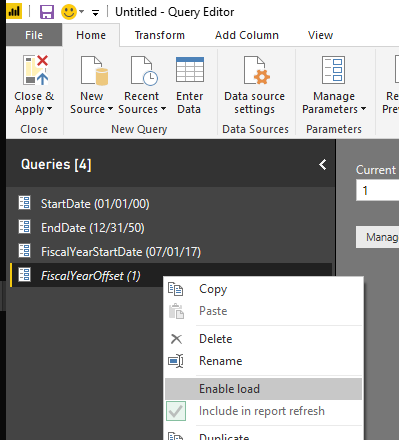 Query Editor image