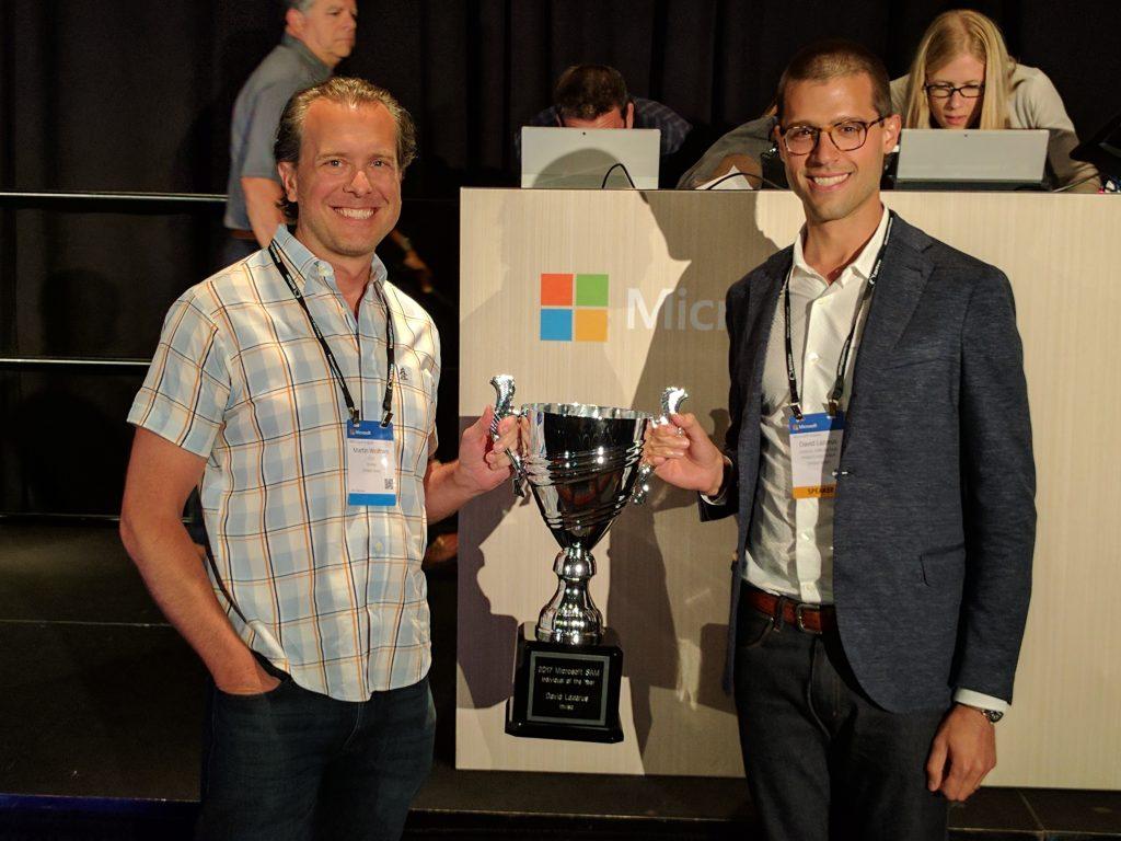 Microsoft SAM Key Individual Award image