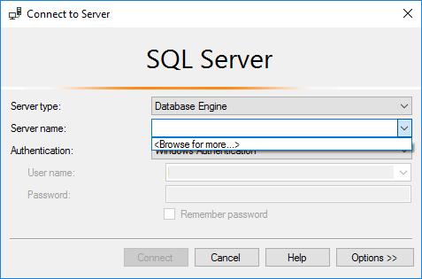 SQL server image
