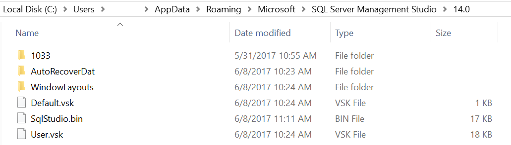 sql server management studio image
